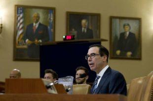 Министар финансија САД Стивен Мнучин није Сенату могао да каже колики је државни дуг