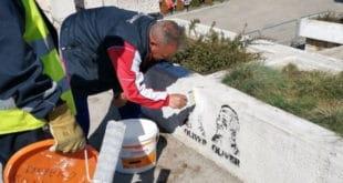 Локална власт у Нишу наредила да се прекрече графити са ликом Оливера Ивановића 11