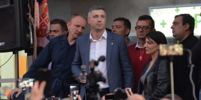 Завршен скуп опозиције у Булевару деспота Стефана 1