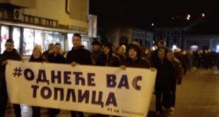 СНС покушао да изазове инциденте на протесту у Kуршумлији, физички обрачун избегнут у последњи час