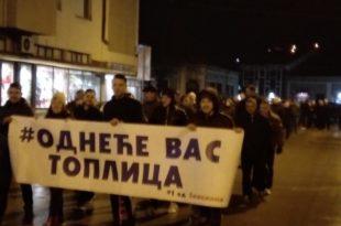 СНС покушао да изазове инциденте на протесту у Kуршумлији, физички обрачун избегнут у последњи час 1