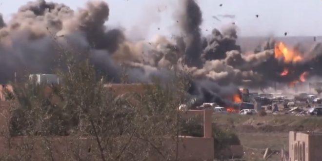 Жестока битка око последњег упоришта ДАЕШ-а у Сирији (видео) 1