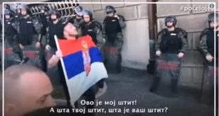 Урош је након овог говора ухапшен и пребијен (видео) 7