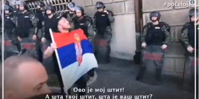Урош је након овог говора ухапшен и пребијен (видео) 1