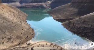 Некад било језеро Заовине, данас изгледа овако (видео) 11