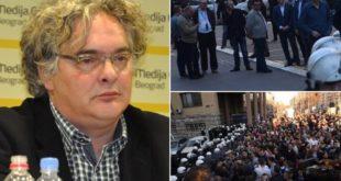 Адвокат Гајић: Ухапшени момци су пребијени од стране полиције по налогу министра Стефановића