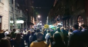 Још један протест у Београду, народ кренуо у шетњу до РТС-а (видео) 8