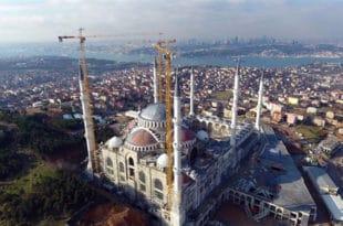 Отворена највећа џамија у Турској 5