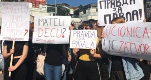 Ђаци Филолошке гимназије захтевају пуштање својих ухапшених другова на слободу! (видео, фото) 11