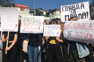 Ђаци Филолошке гимназије захтевају пуштање својих ухапшених другова на слободу! (видео, фото) 2