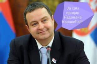 Ја сам продао Радована Караџића!