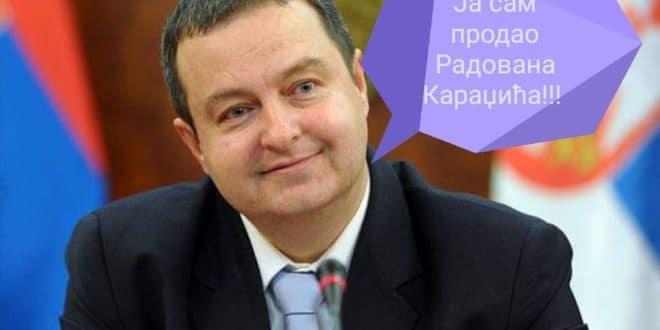 Ја сам продао Радована Караџића! 1