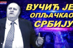 """Милован Бркић: """"Вучић је опљачкао Србију за преко милијарду евра""""! (видео) 7"""