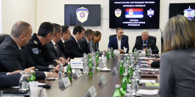 Састанак врха МУП-а са ФБИ и ДЕА поводом борбе против криминала