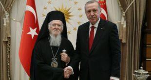 Турски медији: Ердоган наумио да Цариградску патријаршију протера на Свету Гору
