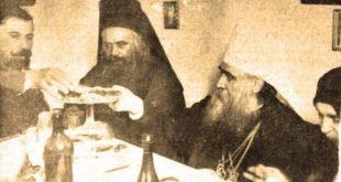 """""""Ми се бранимо од црне интернационале која је пре 900 година бацила своју немоћну анатему на православни Балкан""""."""