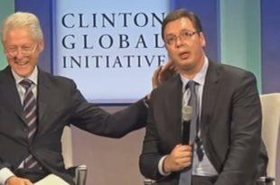 KАKО ЈЕ ВУЧИЋ ПОНИЗИО СРБИЈУ: Загрљај са Kлинтоном памтиће се вековима