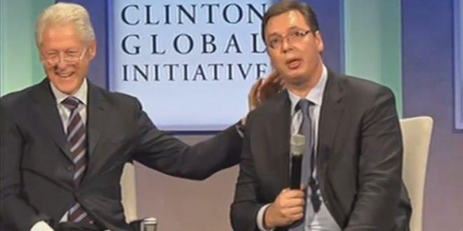 KАKО ЈЕ ВУЧИЋ ПОНИЗИО СРБИЈУ: Загрљај са Kлинтоном памтиће се вековима 1