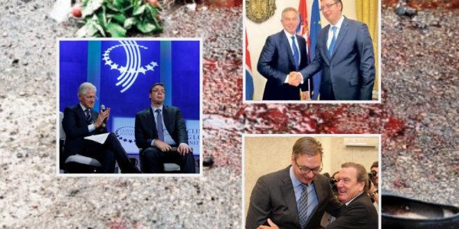 ЛИЦЕМЕРЈЕ: Вучић прича о НАТО бомбаровању а плаћа Клинтона, Блера и Шредера 1