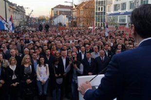 ПОТПУНИ KРАХ: Вучића у Зрењанину који има 123.000 становника дочекало МАЊЕ ОД 5.000 ЉУДИ!