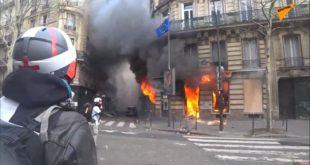 Поново гори Париз: Сукоби на улицама, полиција употребила водене топове (видео)