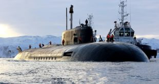 """Први пут заронила подморница која ће носити систем """"Посејдон"""""""