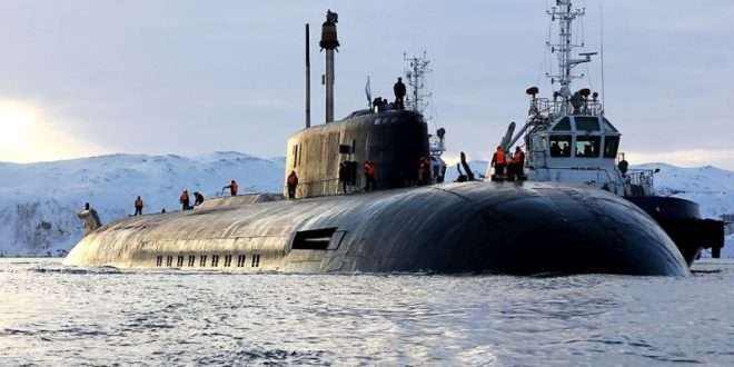 """Први пут заронила подморница која ће носити систем """"Посејдон"""" 1"""
