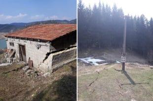 Немар ЕПС-а довео до катастрофе у Заовинама: Kуће мештана и брда клизе у језеро Заовине! (фото) 8