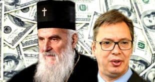 ЛЕГЛЕ ПАРЕ! Патријарх Иринеј забранио владикама да критикују Вучића 8
