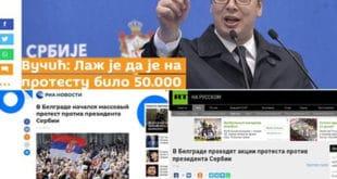 Немачки медији  шире лажи и пропаганду Вучићевог режима док Вучић оштро напада руске медије 10