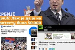 Немачки медији шире лажи и пропаганду Вучићевог режима док Вучић оштро напада руске медије