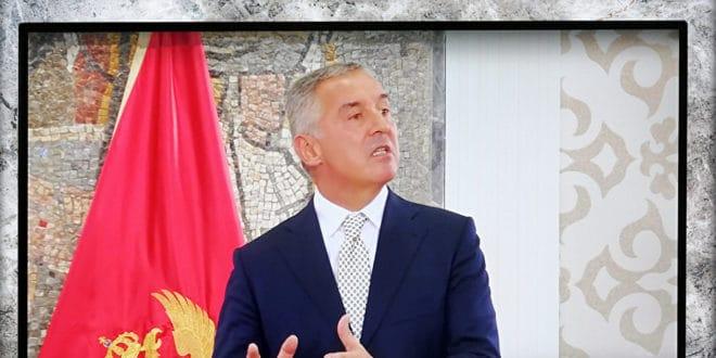 Нашмркани Мило Ђукановић са државне телевизије напао Србију