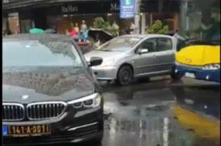 БАХАТО! Возач црногорске амбасаде направио саобраћајни колапс у Београду (видео) 9