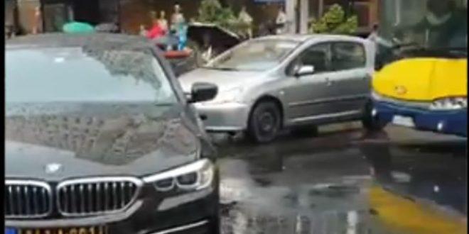 БАХАТО! Возач црногорске амбасаде направио саобраћајни колапс у Београду (видео) 1