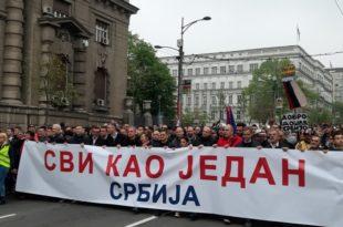Савез за Србију: Ако власт не испуни захтеве следе блокаде институција, све акције ће бити ненасилне