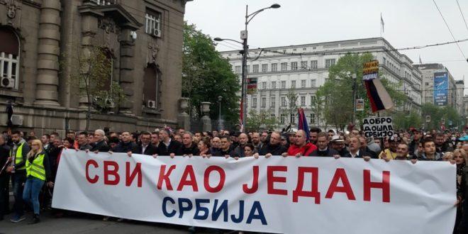 Савез за Србију: Ако власт не испуни захтеве следе блокаде институција, све акције ће бити ненасилне 1