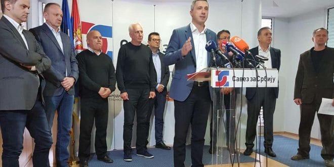 Савез за Србију и српска опозиција са Kосова формирају Савез за Kосово 1
