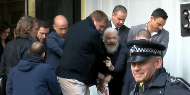 Британска полиција ухапсила Џулијана Асанжа (видео) 1