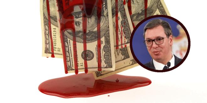 Прање крваво стеченог новца: Вучић је предводник изношења ''прљавог новца'' из земље 1