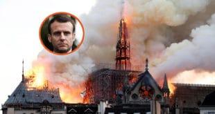 Макрон ће једино бити упамћен као председник под којим је изгорела највећа светиња Француске