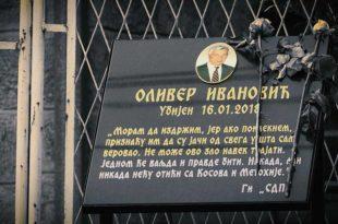 Петнаест месеци од убиства Оливера Ивановића, починиоци и налогодавци још увек нису откривени
