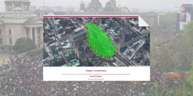 На јучерашњем протесту опозиције у Београду било је између 80.000 и 112.000 људи (фото, видео) 1