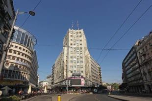 НАПРЕДНИ ПРОБУШЕНИ КУРТОНИ данас су у центру Београда ометали мобилну телефонију