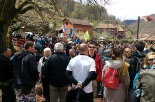 Протест народа против МХЕ: Заклели се да реке неће дати ником