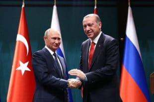 Москва: Почео састанак Путина и Ердогана, разговарају о економији и Сирији