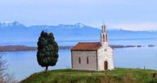 Слава манастира Врањина на Скадарском језеру (видео)