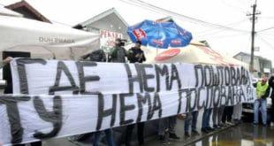 Завршен протест испред пекаре у Борчи 9