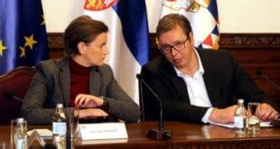 Вучић и Брнабићка припремају предају Косова и Метохије шиптарским терористима и НАТО