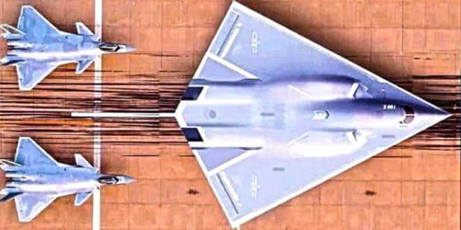НЕВИДЉИВИ ЗМАЈ: Представљен дизајн кинеског стратешког бомбардера Х-20 (фото) 1