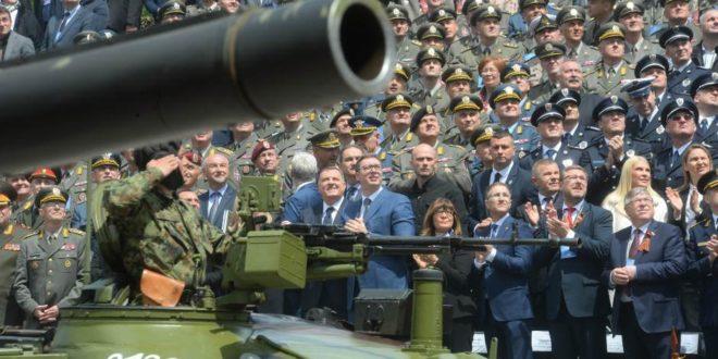 Позадина војно-полицијске параде 1